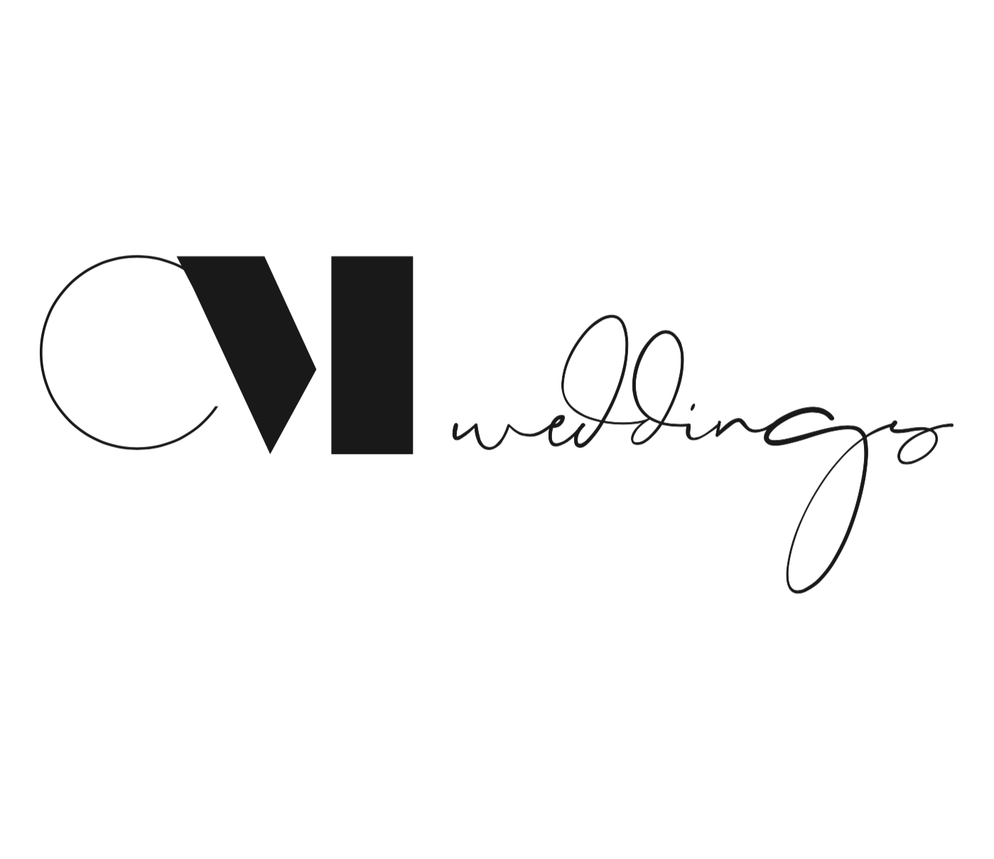 cm weddings Logo