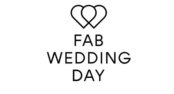 FAB WEDDING DAY Logo